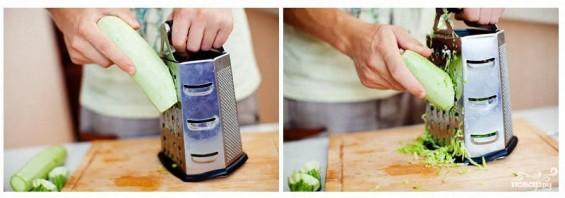 Вегетарианский салат из кабачков - фото шаг 1