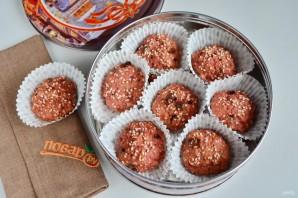 Свекольно-кунжутное печенье - фото шаг 7