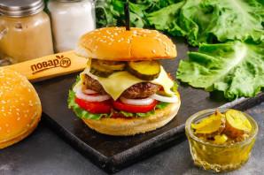 Бифбургер - фото шаг 9