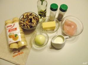 Жульен в тарталетках с грибами и курицей - фото шаг 1