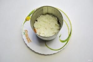 Салат с треской и овощами - фото шаг 5