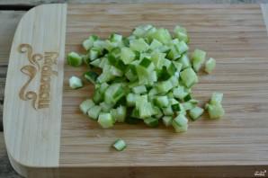 Холодный суп на кефире - фото шаг 4
