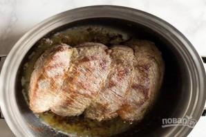 Мясо в красном вине - фото шаг 3
