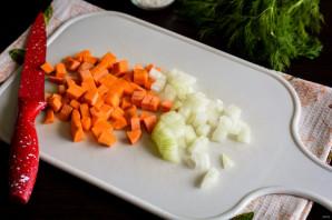 Грибной холодный суп на воде - фото шаг 3