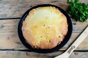 Пирог с мясом (легче не бывает!) - фото шаг 6