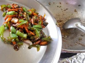 Китайская лапша с курицей - фото шаг 9
