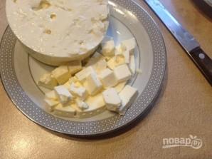 Паста по-турецки с кефиром, луком и соленым сыром - фото шаг 6