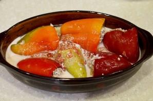 Фаршированные перцы в томатном соусе - фото шаг 6