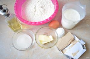 Хлеб на живых дрожжах в хлебопечке - фото шаг 1