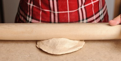 Хачапури с сыром на кефире - фото шаг 7