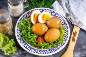 Маринованные яйца по-китайски
