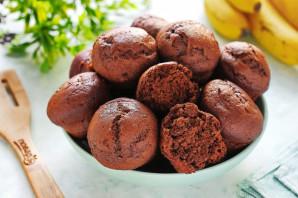 Шоколадные маффины с бананом - фото шаг 8