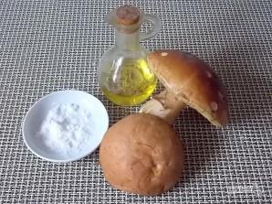 Жареные лесные грибы на зиму - фото шаг 1