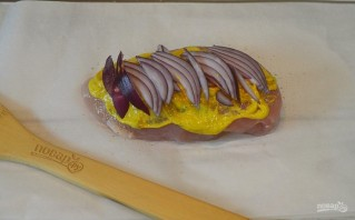 Курица под абрикосово-горчичным соусом - фото шаг 6