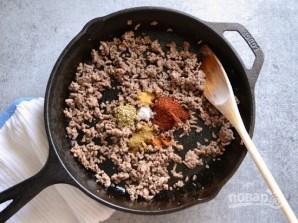 Салат с мясом и фасолью - фото шаг 1