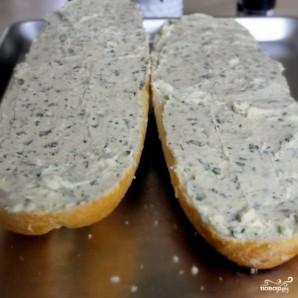 Чесночно-сырные гренки - фото шаг 9