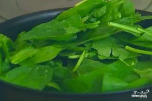 Брокколи со шпинатом - фото шаг 2