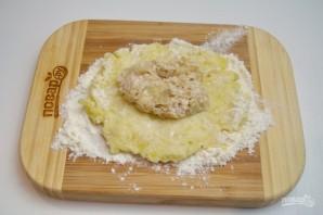 Зразы картофельные с мясом - фото шаг 9