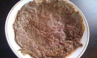 Печеночный торт с грибами - фото шаг 2
