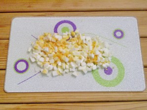 Салат из творога с зеленью - фото шаг 2