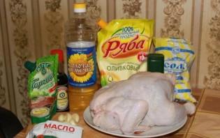 Целая курица в мультиварке - фото шаг 1