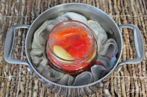 Перец с яблоками на зиму - фото шаг 9