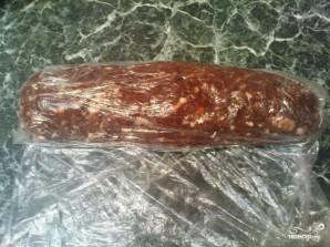 """Пирожное """"Колбаска"""" из печенья - фото шаг 3"""