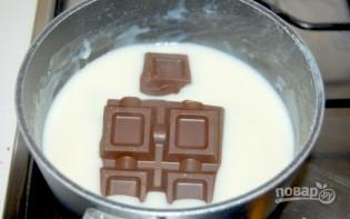 "Тортик  ""Безе в шоколаде""  - фото шаг 5"