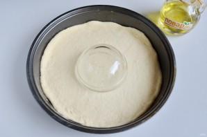 Пирог с шоколадной пастой, маком и орехами - фото шаг 4