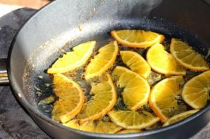 Cалат с печенью и апельсинами - фото шаг 4