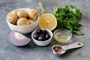 Марокканский картофельный салат - фото шаг 1