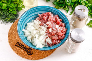 Айва фаршированная мясом - фото шаг 3