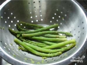 Салат из спаржи маринованной - фото шаг 3