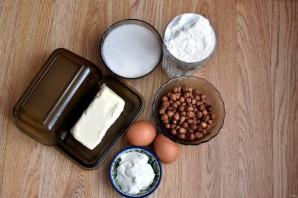 Песочный пирог с орехами - фото шаг 1