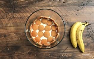 Ванильный пудинг с бананом - фото шаг 4