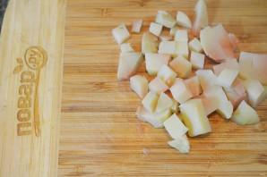 Салат из цуккини, фенхеля и редиса - фото шаг 2