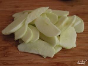Слоеный пирог с яблоками из готового теста - фото шаг 2