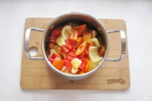 Маринованный болгарский перец без стерилизации - фото шаг 7