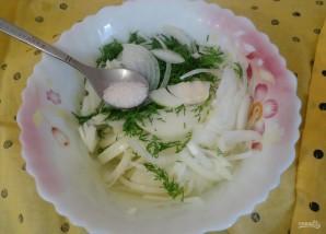 Салат к узбекскому плову - фото шаг 2
