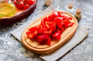 Перец с томатным соусом - фото шаг 2