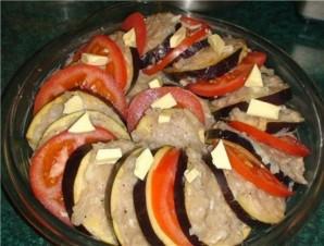 Рататуй с мясом в духовке - фото шаг 2