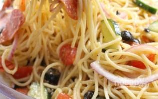 Салат из спагетти - фото шаг 3