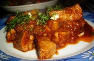 Жаркое из свинины - фото шаг 7