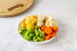 Смузи из сельдерея и моркови - фото шаг 3
