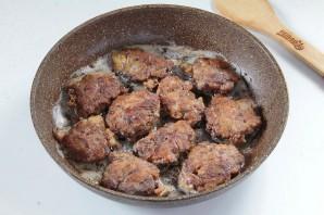 Куриная печень в сметанно-чесночном кляре - фото шаг 7