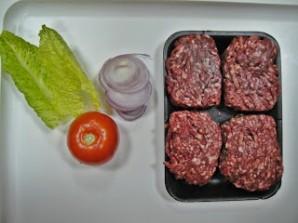 Американский бургер - фото шаг 1