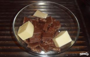 Пирог с шоколадом - фото шаг 1