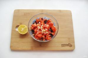 Салат из свеклы и помидоров - фото шаг 6