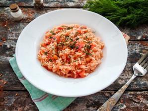 Рис с чесноком и помидорами - фото шаг 11