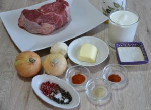 Говядина в перечном соусе - фото шаг 1